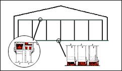 Aircraft Hangar Door Brush Seals