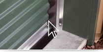 Rolling Curtain Door Brush Seals