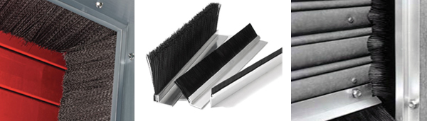 Door Brush Amp Seal Plus Bottom Door Seal Aluminium Profile