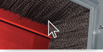 Roll Up Garage Door Brush Seal Garage Design Ideas