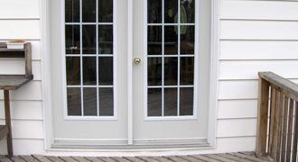 Double Doors Exterior Brush Seals
