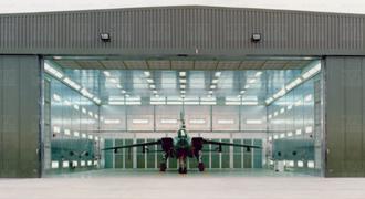 Sliding Hanger Door Brush Seals & Aircraft Hangar Door Seals | Memtech Brush